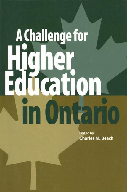A Challenge for Higher Education in Ontario als Buch