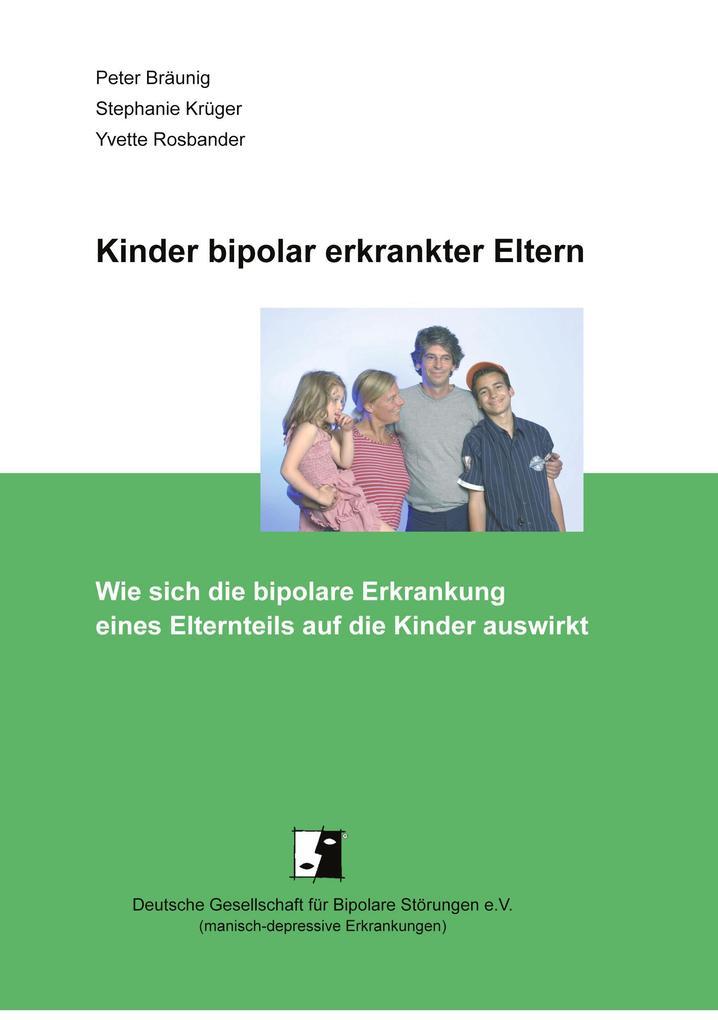 Kinder bipolar erkrankter Eltern als Buch