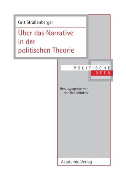 Über das Narrative in der politischen Theorie als Buch
