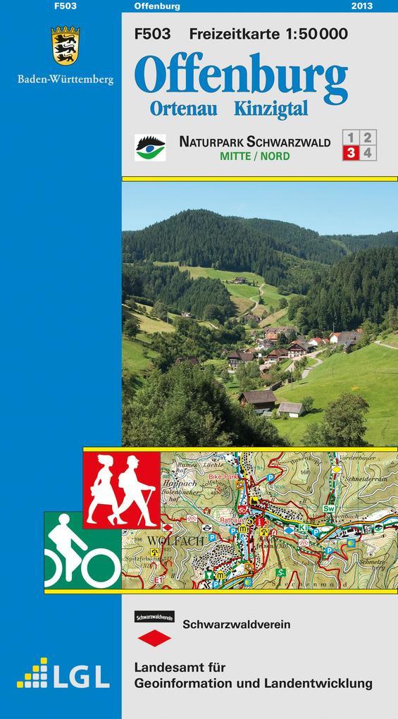 LGL BW 50 000 Freizeit Offenburg, Ortenau, Kinzigtal als Buch