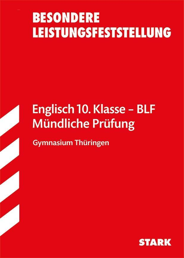 Besondere Leistungsfeststellung Thüringen - Englisch 10. Klasse als Buch