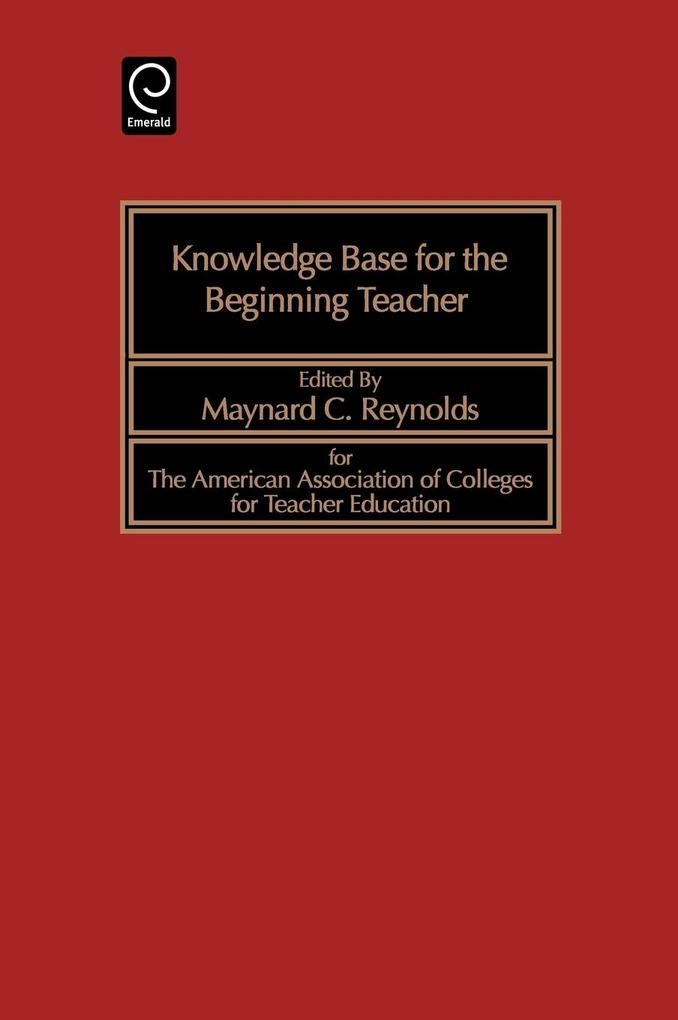 Knowledge Base for the Beginning Teacher als Buch