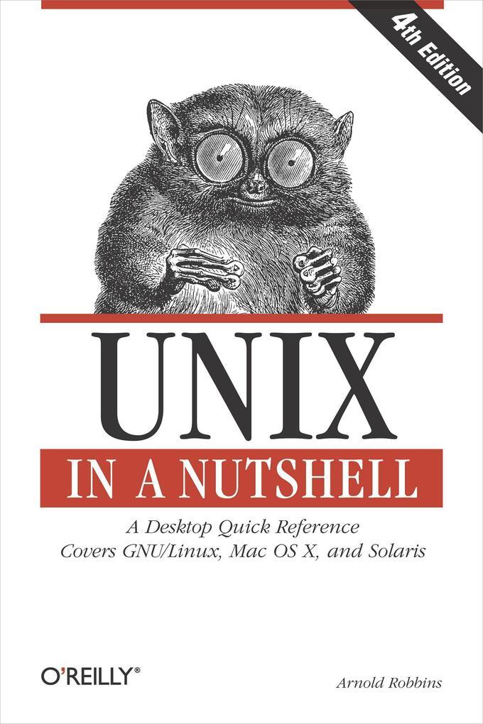 Unix in a Nutshell als Buch