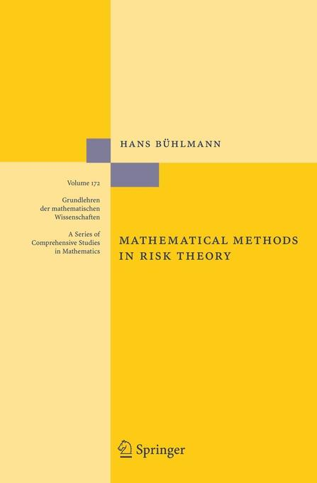 Mathematical Methods in Risk Theory als Buch