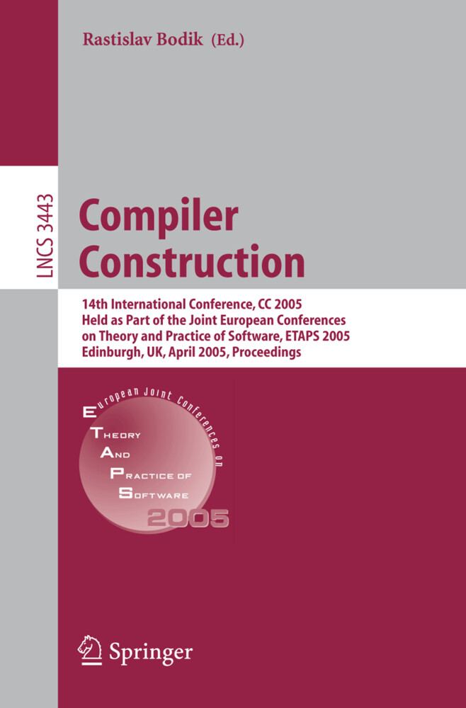 Compiler Construction als Buch
