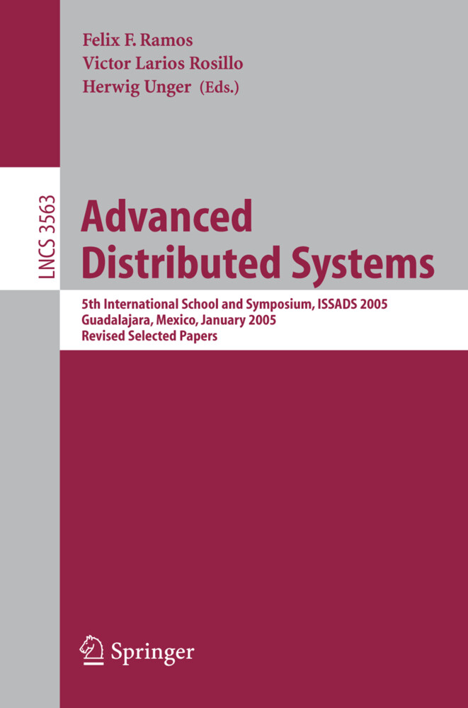 Advanced Distributed Systems als Buch