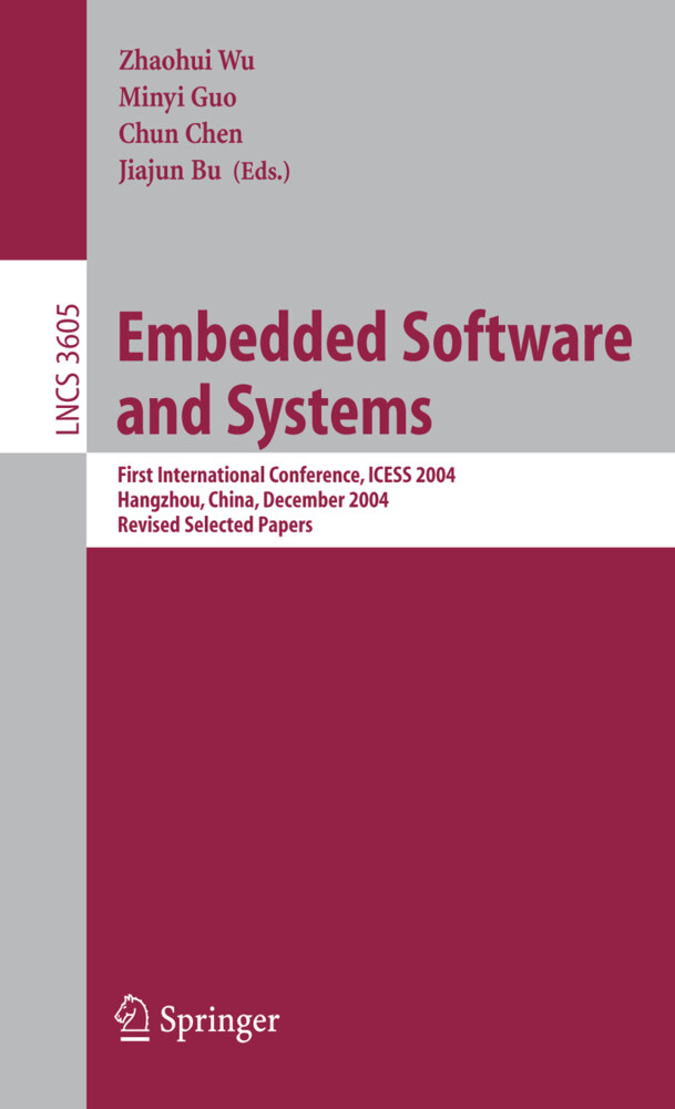 Embedded Software and Systems als Buch