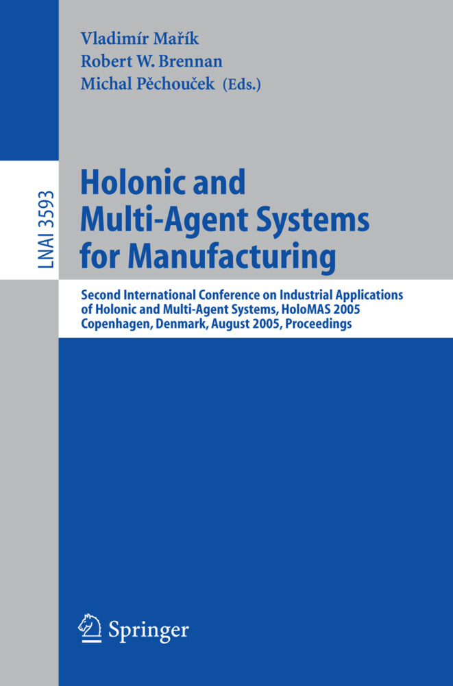 Holonic and Multi-Agent Systems for Manufacturing als Buch