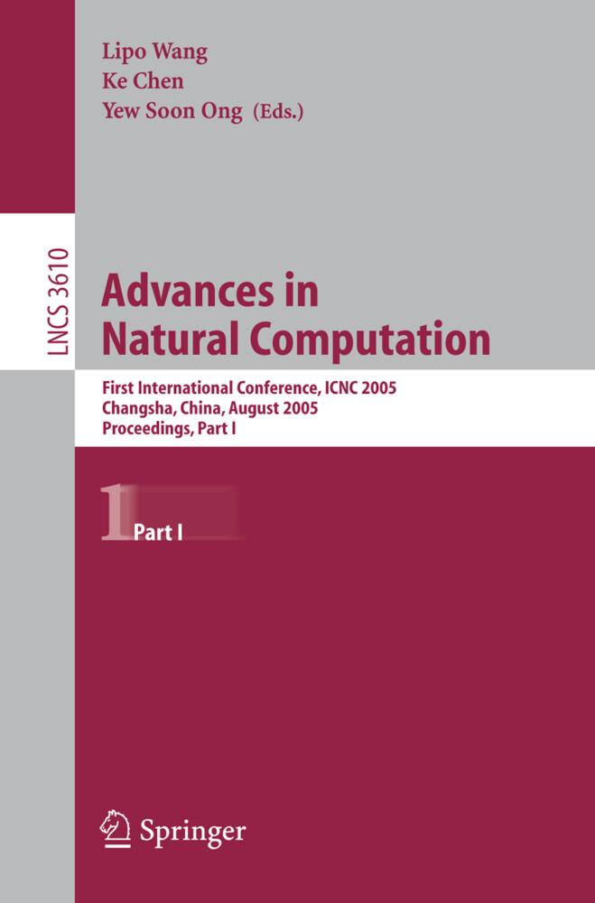 Advances in Natural Computation als Buch