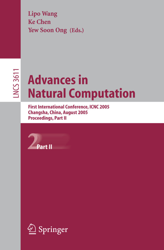 Advances in Natural Computation als Buch