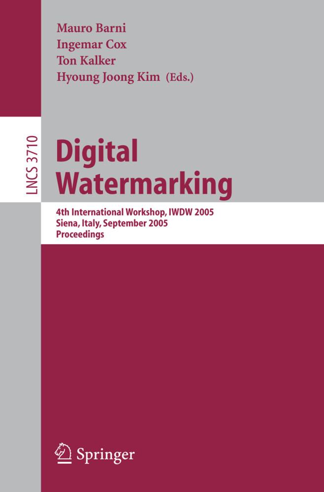 Digital Watermarking als Buch