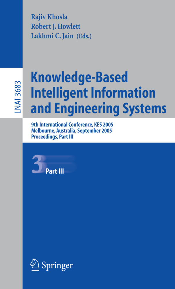 Knowledge-Based Intelligent Information 2005 als Buch