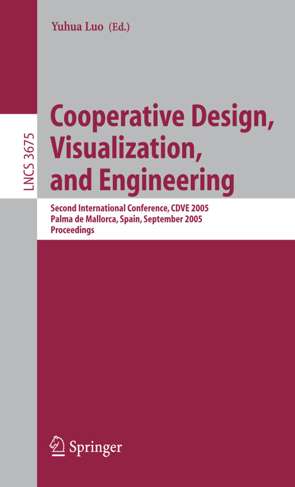 Cooperative Design, Visualization, and Engineering als Buch