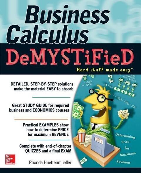 Business Calculus Demystified als Buch