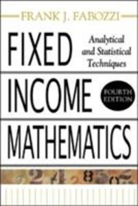 Fixed Income Mathematics als Buch