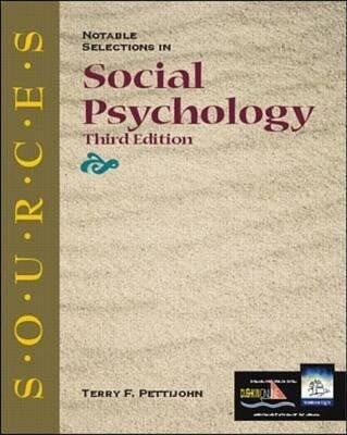 Notable Selections in Social Psychology als Buch