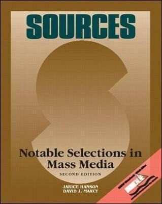 Sources: Notable Selections in Mass Media als Taschenbuch