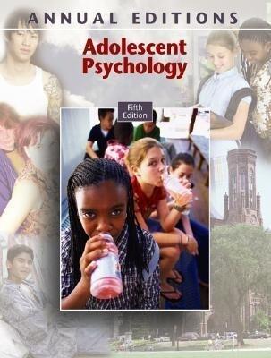 Adolescent Psychology als Taschenbuch