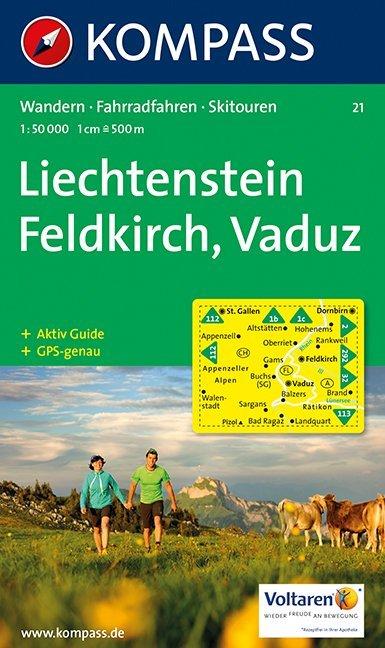 Feldkirch Vaduz 1 : 50 000 als Buch