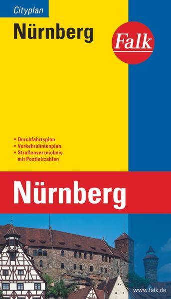 Falk Cityplan Nürnberg 1 : 20 000 als Buch