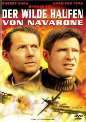 Der wilde Haufen von Navarone als DVD