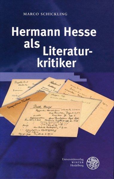 Hermann Hesse als Literaturkritiker als Buch
