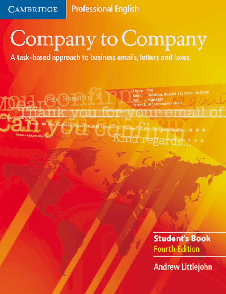 Company to Company. New edition. Student's Book als Buch