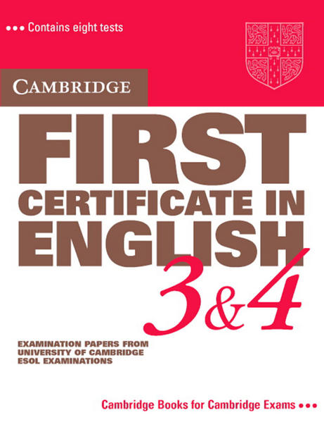 Cambridge First Certificate in English 3/4. Student's Book als Buch