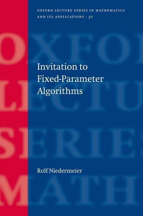 Invitation to Fixed Parameter Algorithms als Buch