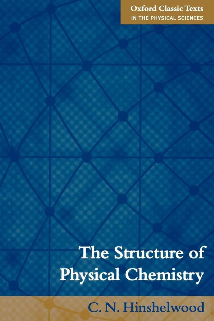 The Structure of Physical Chemistry als Buch