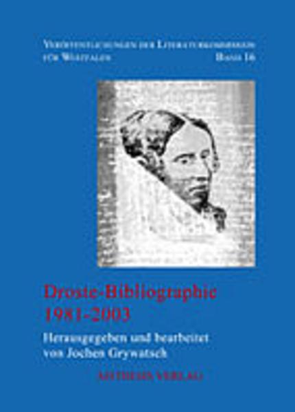 Droste-Bibliographie als Buch