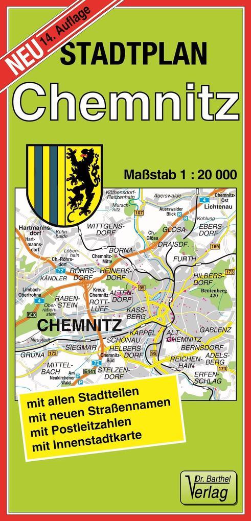 Stadtplan Chemnitz 1 : 20 000 als Buch