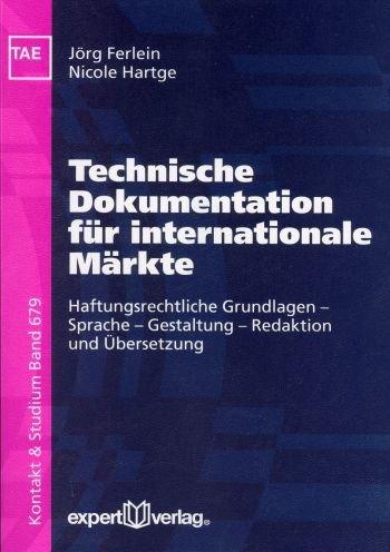 Technische Dokumentation für internationale Märkte als Buch