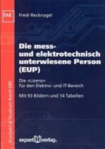 Die elektrotechnisch unterwiesene Person (EUP) als Buch