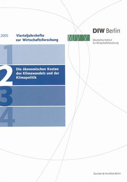 Vierteljahreshefte zur Wirtschaftsforschung 2005/2 als Buch