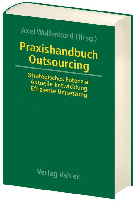 Praxishandbuch Outsourcing als Buch