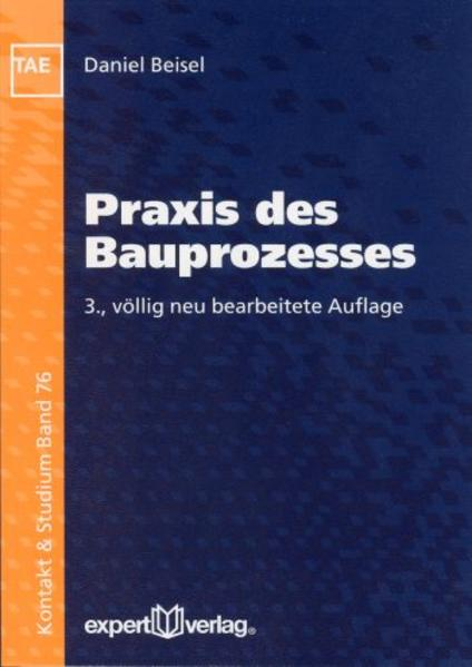Praxis des Bauprozesses als Buch