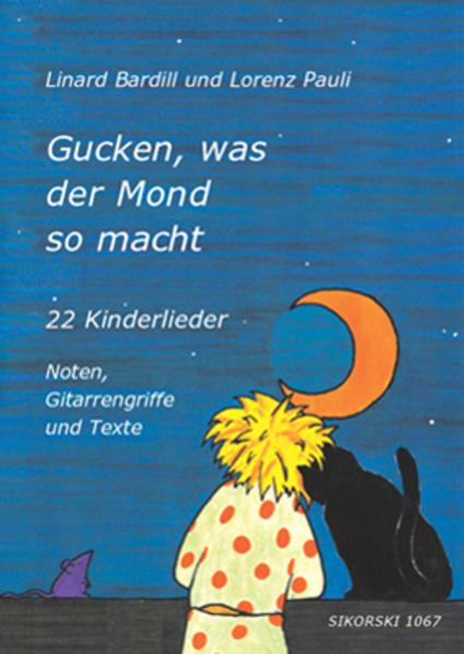 Gucken, was der Mond so macht als Buch