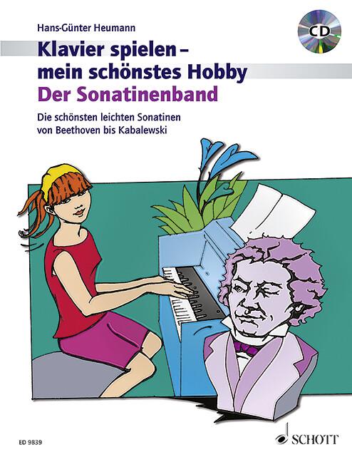 Klavier spielen, mein schönstes Hobby - Der Sonatinenband, m. Audio-CD als Buch