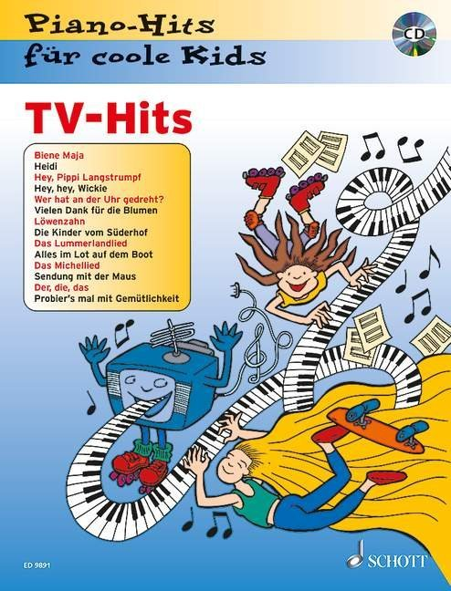 TV-Hits. Pianohits für coole Kids als Buch