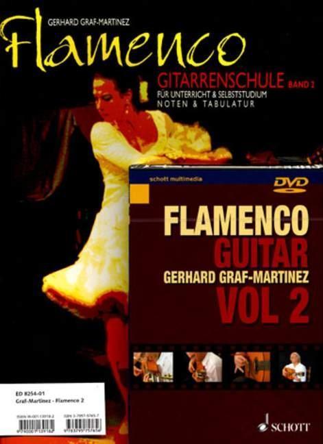 Flamenco Gitarrenschule 2. Mit DVD als Buch