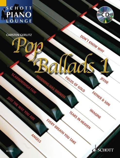 Schott Piano Lounge. Pop Ballads als Buch