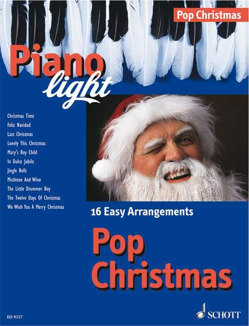 Piano light, Pop Christmas als Buch