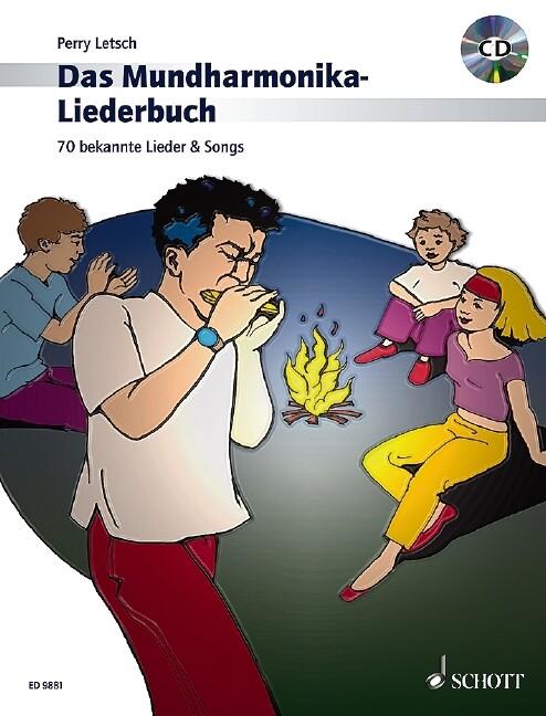 Das Mundharmonika-Liederbuch als Buch