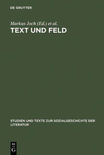 Text und Feld als Buch