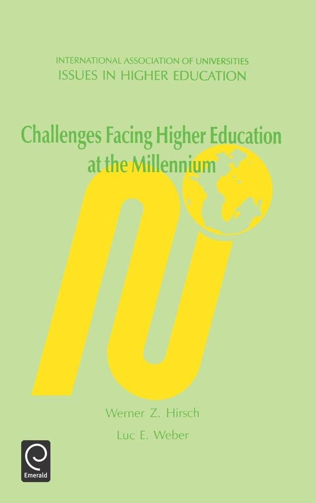 Challenges Facing Higher Education at the Millennium als Buch