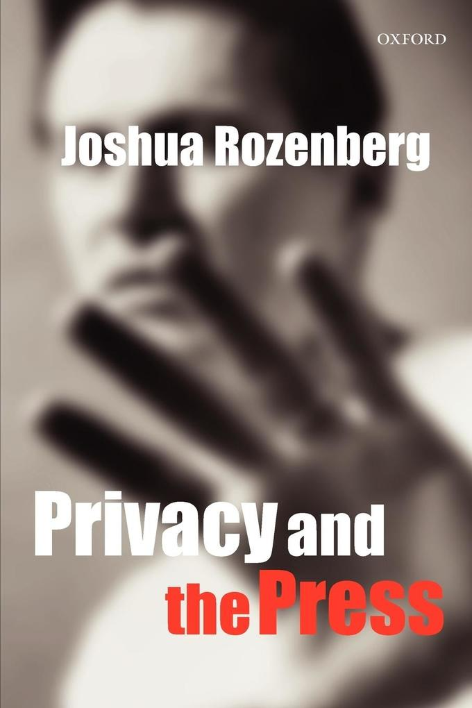 Privacy and the Press als Buch