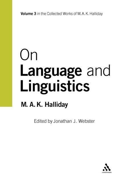 On Language and Linguistics als Buch