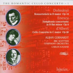 Romantic Cello Concerto Vol.01 als CD