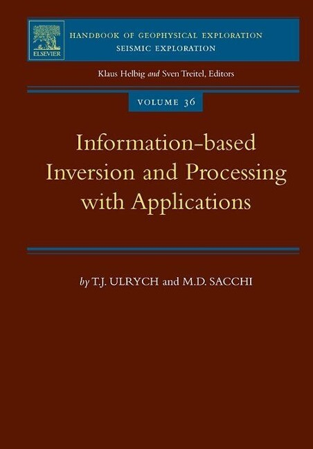 Information-Based Inversion and Processing with Applications als Buch